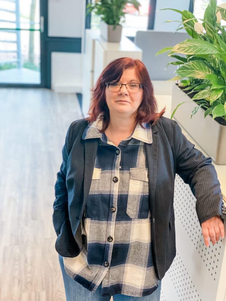 Ingrid Vink teamleider van Quality Contacts