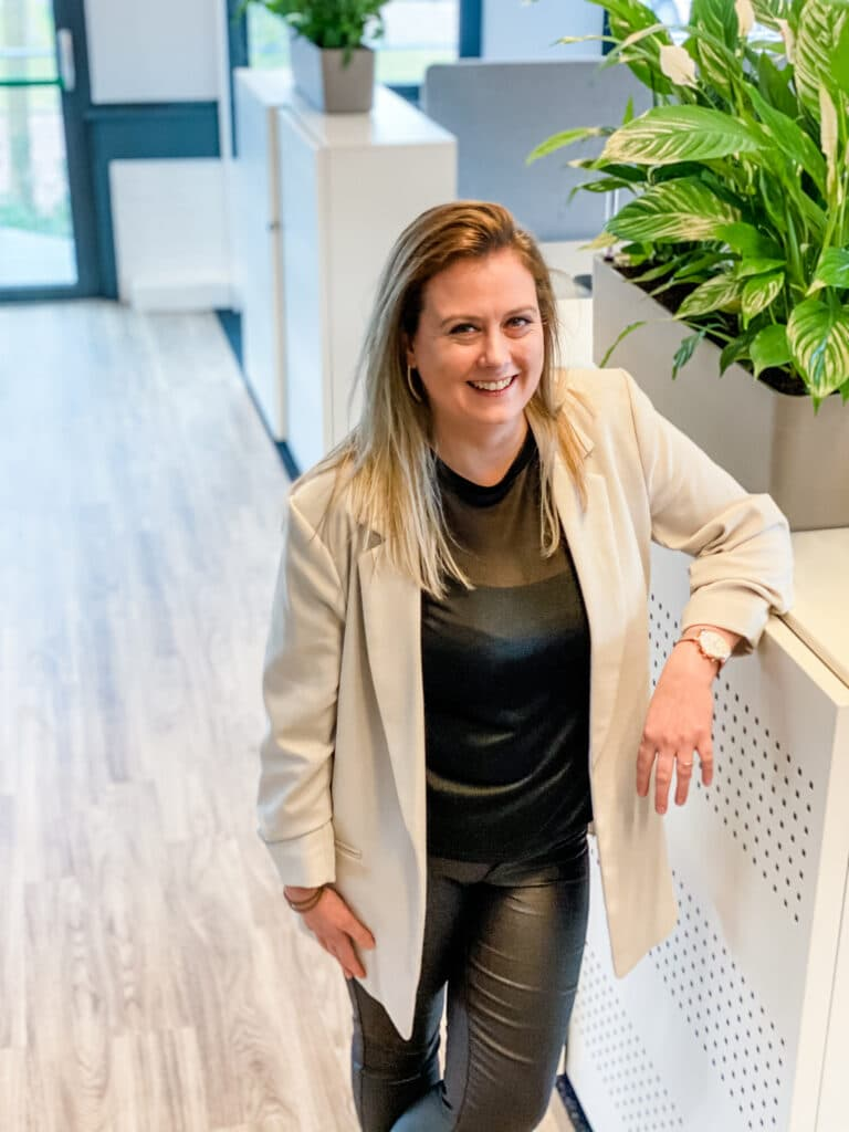 Jorien van den Brink teamleider van Quality Contacts