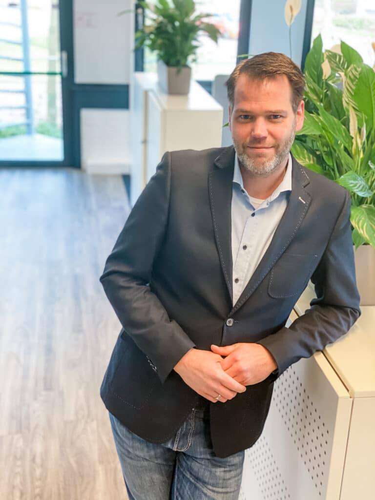 Pjoth Hilberink Projectmanager van Quality Contacts