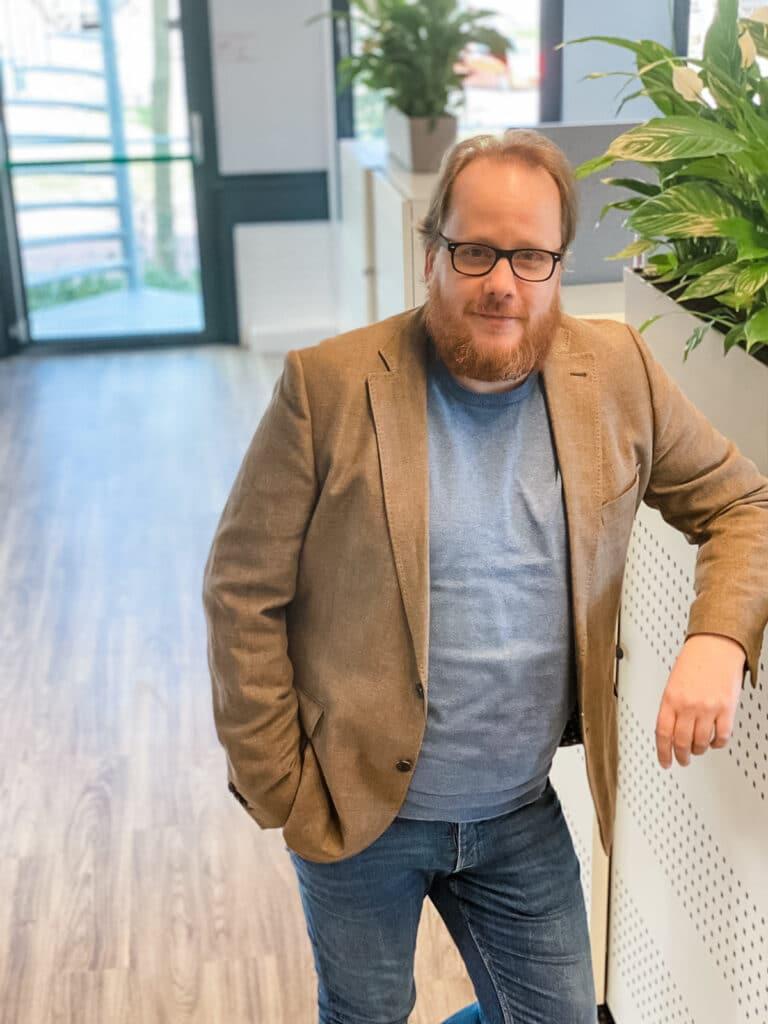 Rene Gisbertz manager ICT van Quality Contacts