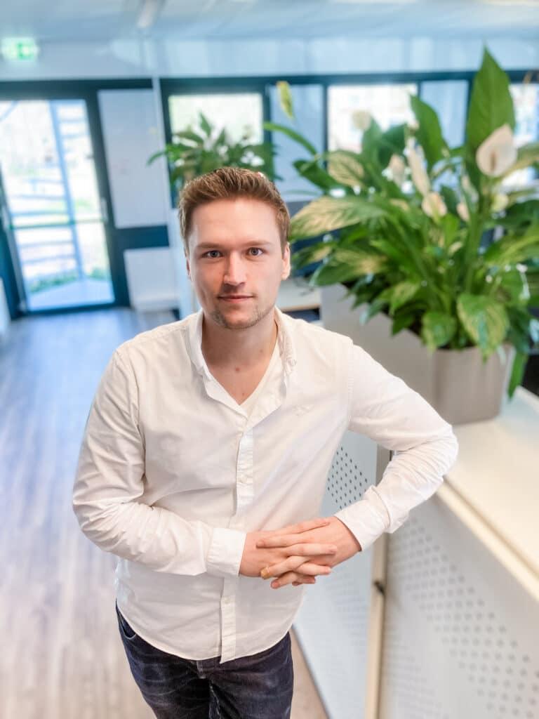 Tomas Ruitenberg teamleider bij Quality contacts