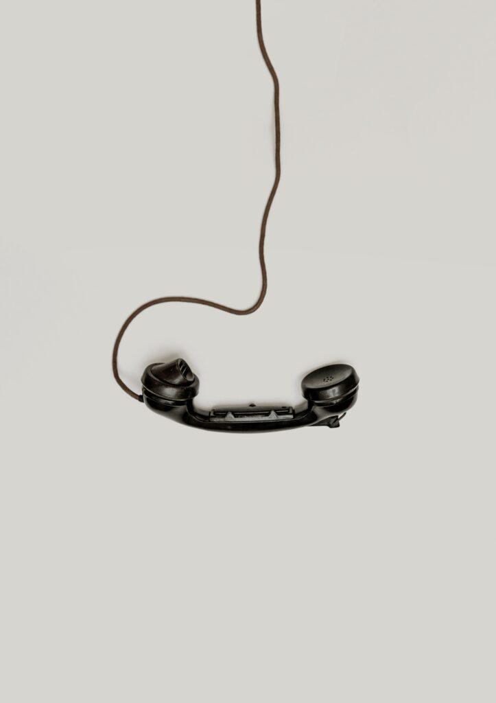 telefoonhoorn voor campagnemanagement