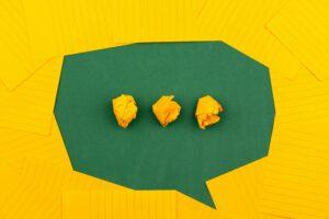 speechbubble stock foto visual